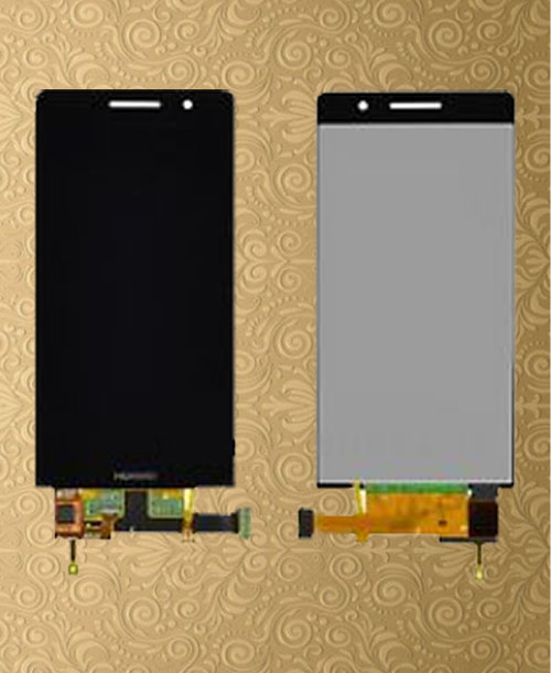 Huawei G6 Ascend LCD Digitizer Frame Black