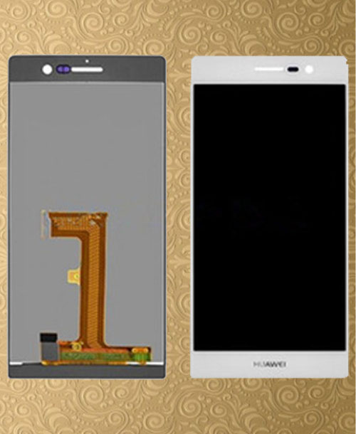Huawei P7 Ascend LCD Digitizer Frame Black