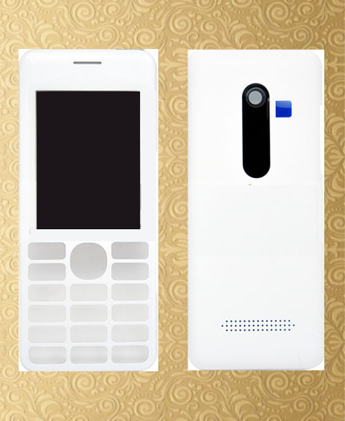 Nokia 206 housing White