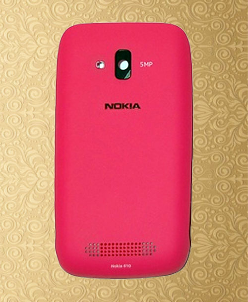 Nokia 610 Batery Cover Pink
