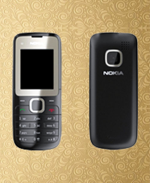 Nokia C2-00 Black Housing