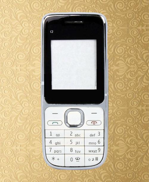 Nokia C2-01 White Housing with Keypad