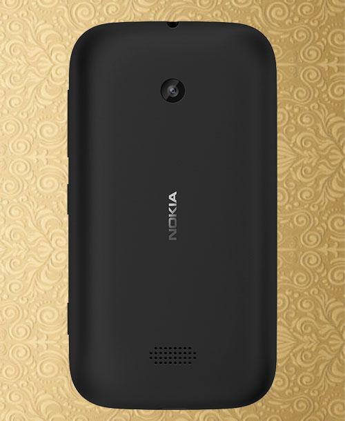 Nokia Lumia 510 Battery Cover Black