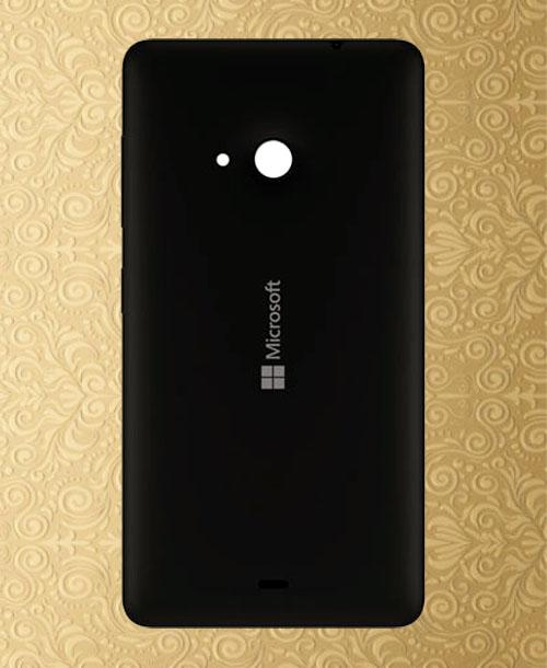 Nokia Lumia 535 Backcover Black