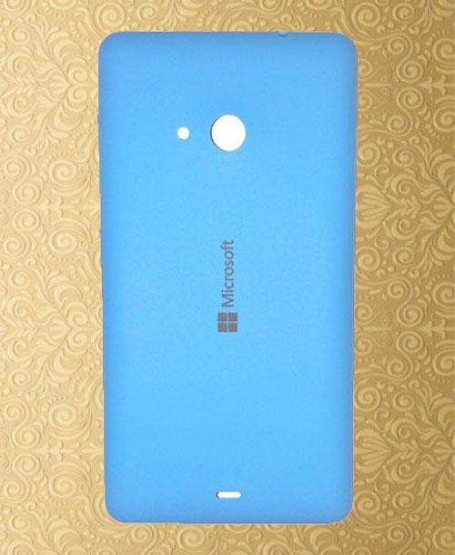 Nokia Lumia 535 Backcover Blue