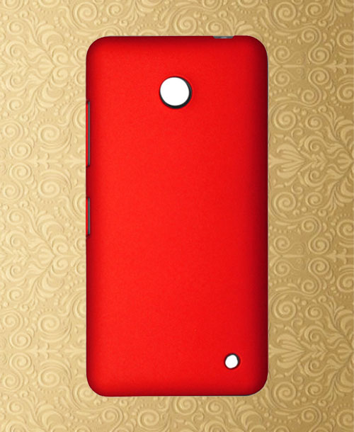 Nokia Lumia 630 Back Cover Red