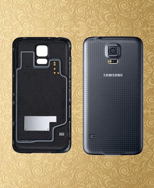 Samsung Galaxy S5 Back Cover Black
