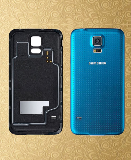 Samsung Galaxy S5 Back Cover Blue