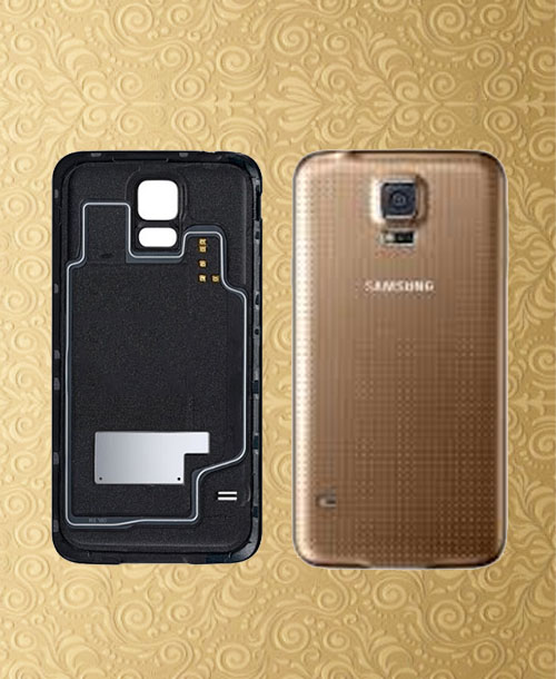 Samsung Galaxy S5 Back Cover Gold