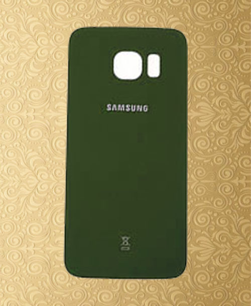 Samsung S6 Edge Back Cover Green