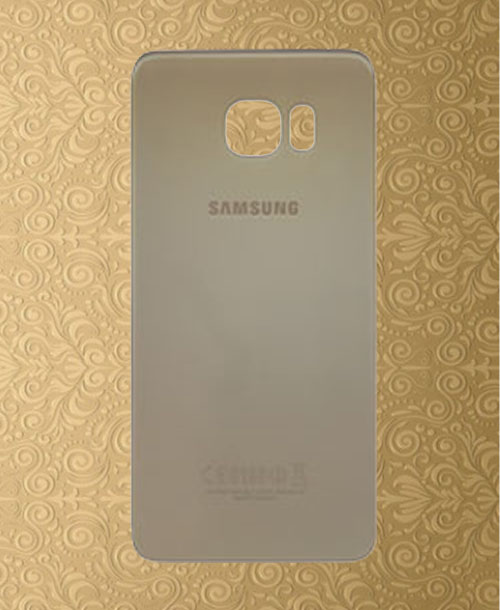 Samsung S6 Edge Back Gold