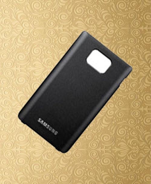 Samsung i9100  Galaxy S2 Black Back Cover