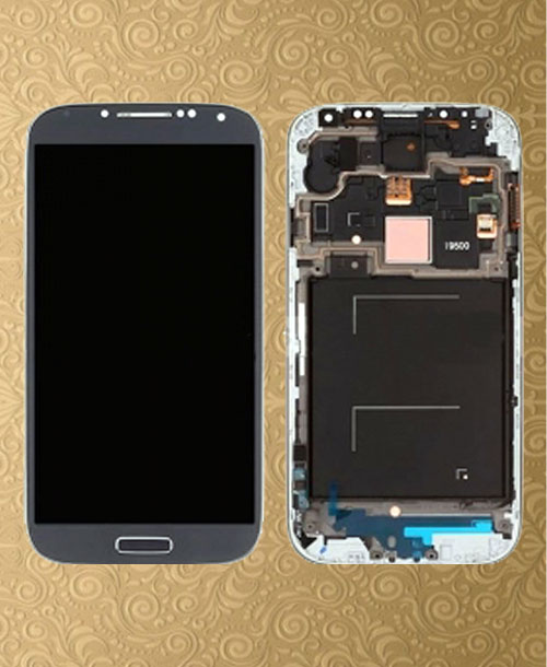 S4 LCD Digitizer Black Generic