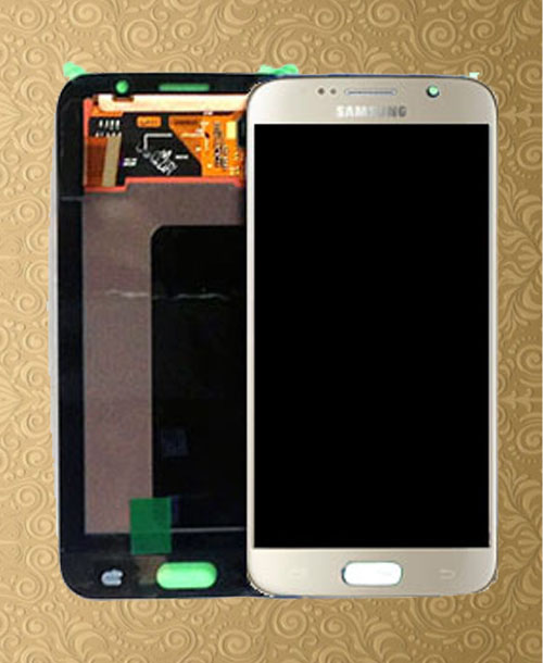S6 Gold LCD with Digitizer