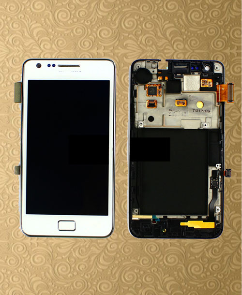 Samsung Galaxy i9100 Complete LCD White