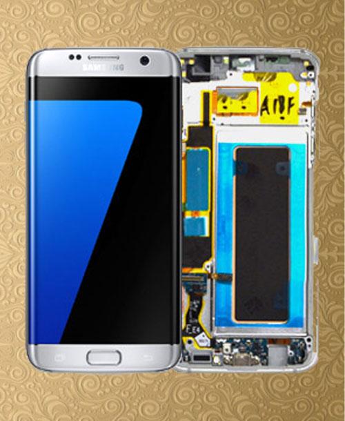 Samsung S7 Edge LCD Silver