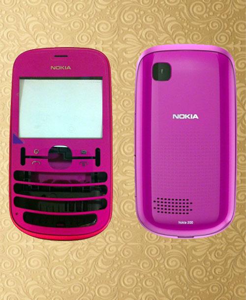 Nokia 200 housing Pink