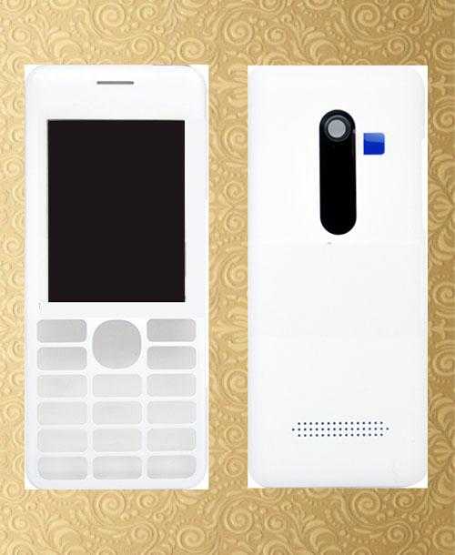 Nokia 206 housing White