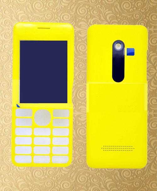 Nokia 206 housing Yellow