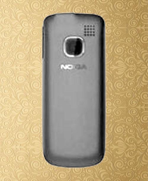 Nokia C1-01 Back Cover Black