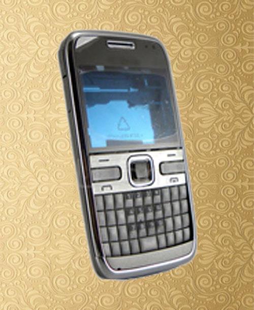 Nokia E72 Silver Housing with Keypad