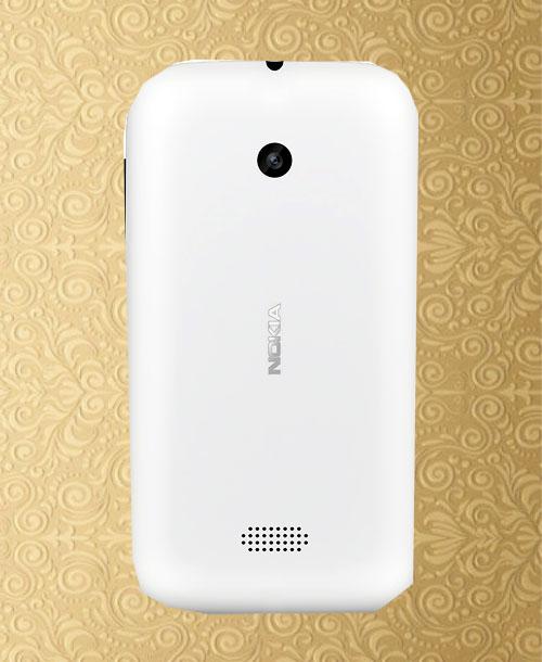 Nokia Lumia 510 Battery Cover White