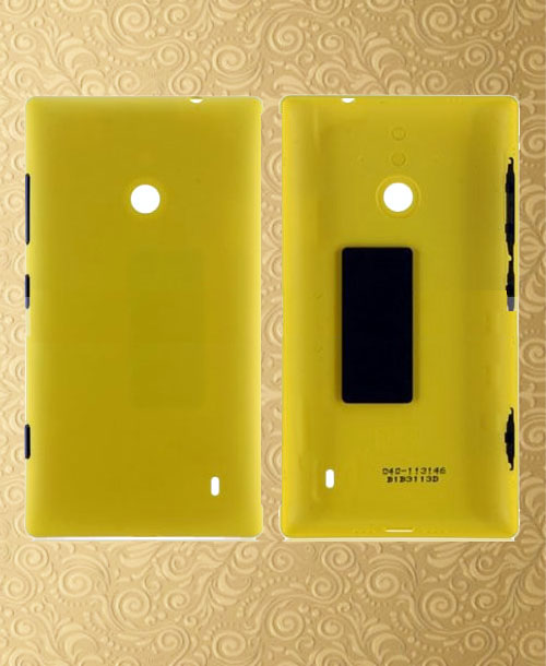 Nokia Lumia 520 Back Cover Yellow