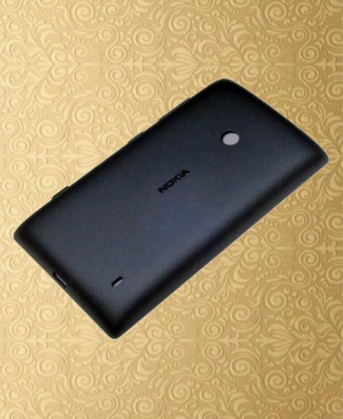 Nokia Lumia 520 Battery Cover Black