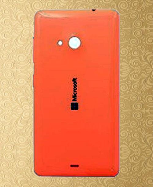 Nokia Lumia 535 Backcover Orange