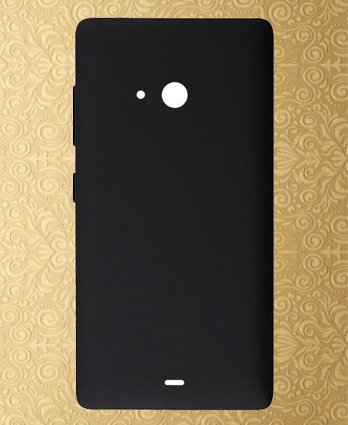 Nokia Lumia 540 Backcover Black