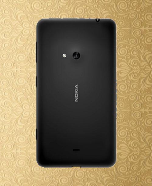 Nokia Lumia 625 Back Cover Black