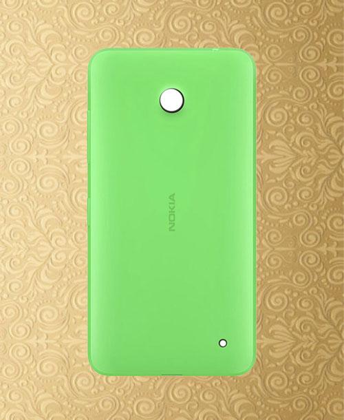 Nokia Lumia 630 Back Cover Green
