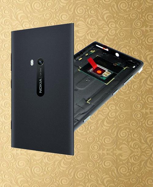 Nokia Lumia 920 Back Cover Black