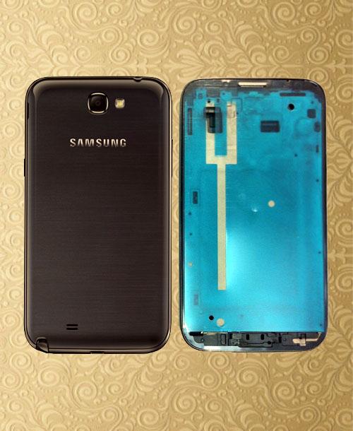 Samsung Note2 Housing Black