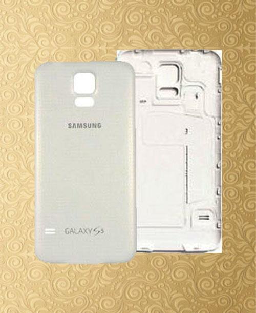 Samsung S5 Back Cover White