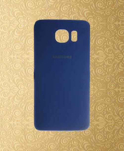 Samsung S6 Battery Cover Dark Blue