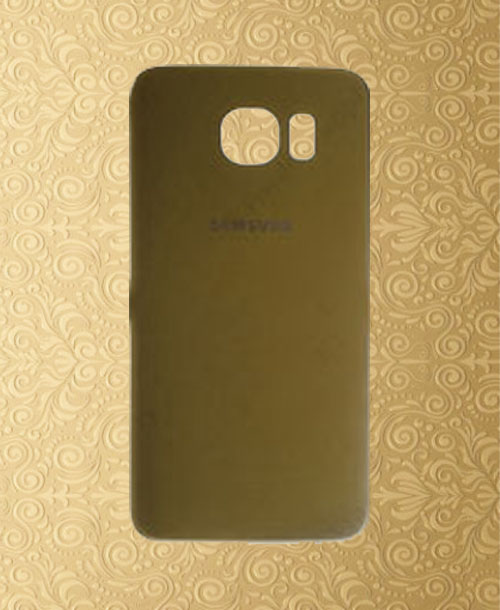 Samsung S6 Battery Cover Dark Gold