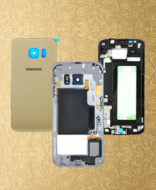Samsung S6 Edge Housing Gold