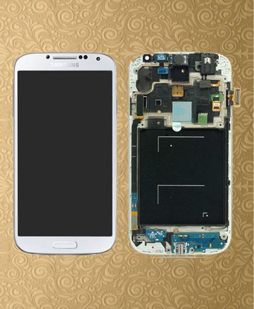 S4 LCD Digitizer White Generic