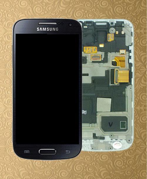 S4 mini LCD Digitizer Black