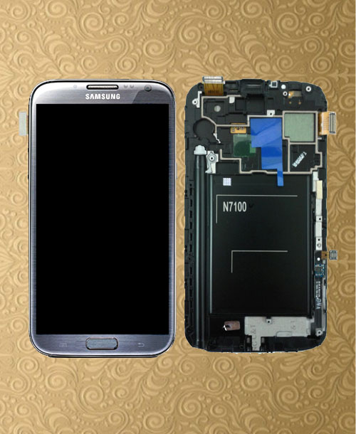 Samsung Galaxy Note 2 LTE LCD with Digitizer Titanium Grey