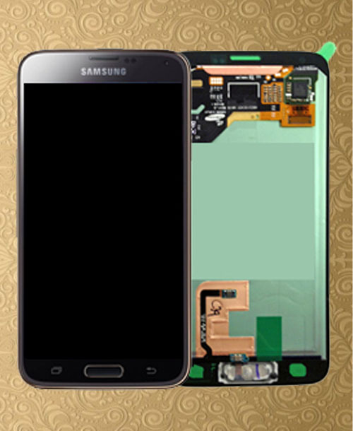 Samsung S5 LCD Screen Gold