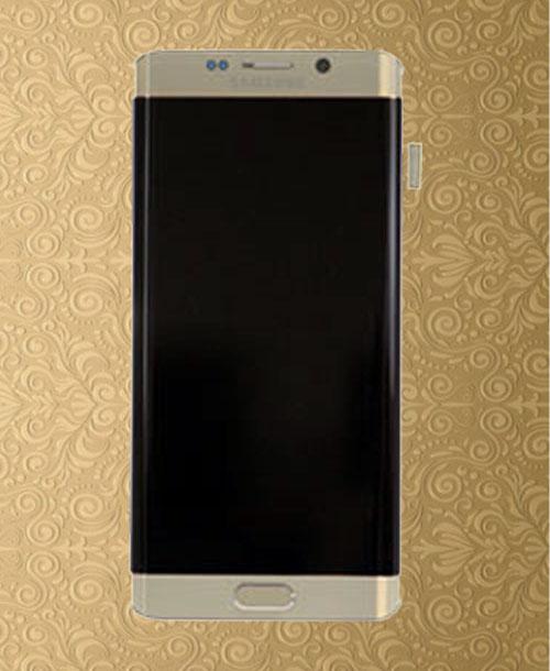 Samsung S6 Edge LCD Gold